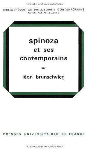 9782130315445: Spinoza et ses contemporains, 4e �dition