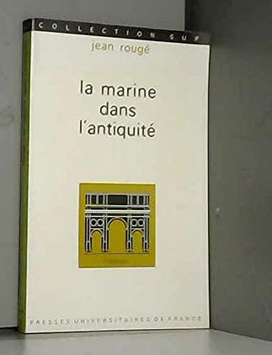 9782130336525: La Marine dans l'antiquité,1ère édition