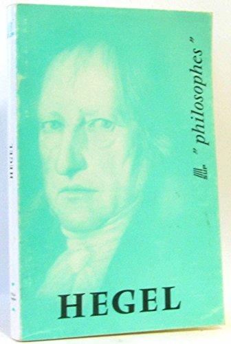 9782130338031: Hegel -Sa vie son oeuvre