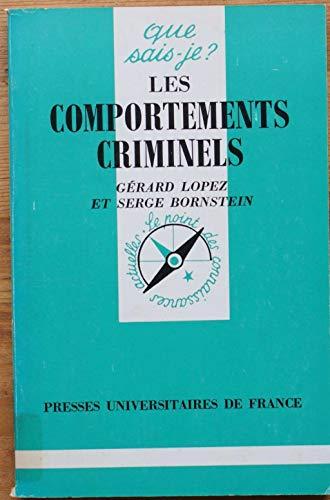 9782130347996: Comportements criminels (les)