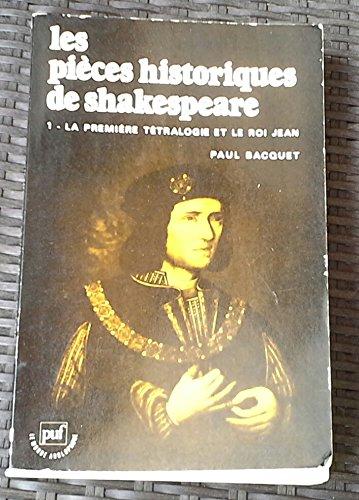 9782130353379: Les pièces historiques de Shakespeare, tome 1
