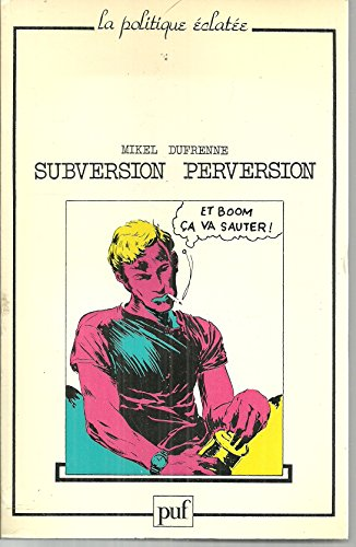 9782130353508: Subversion-perversion