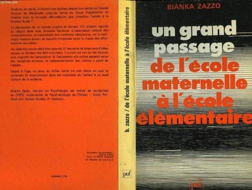 9782130355922: Grand Passage Ecole Mater.Element.