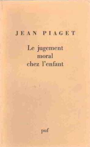 9782130356783: Jugement Moral Chez l'Enfant (le) (Biblio Philosop)
