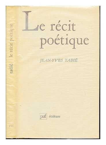 9782130356981: Le récit poétique