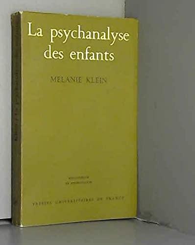 9782130357216: Psychanalyse des Enfants (la)
