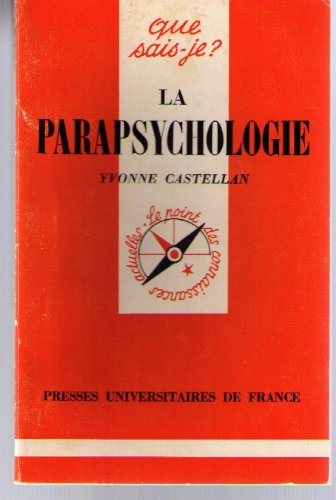 La Parapsychologie: Yvonne Castellan