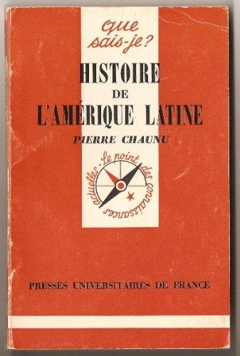 9782130359081: Histoire de l'amerique latine