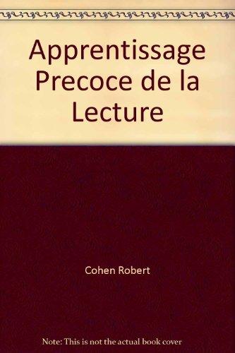 9782130360971: Apprentissage Precoce de la Lecture