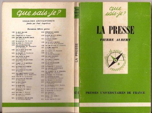 9782130362302: Histoire de la presse (Que sais-je?)