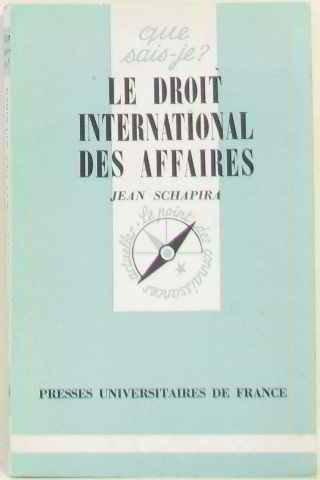 9782130362319: Le Droit International des Affaires