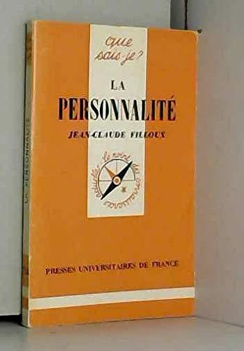 9782130362814: La Personnalité