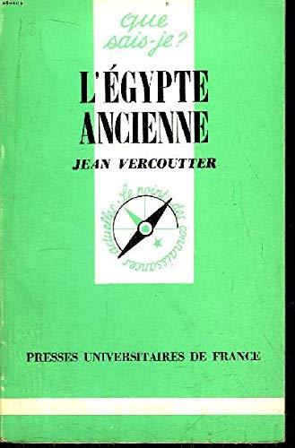 9782130362869: L'Egypte ancienne (Que sais-je?) (French Edition)