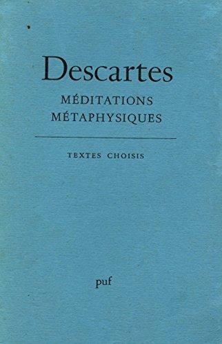 Meditations metaphysiques (GRANDS TEXTES (LES)): Descartes Rene