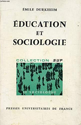 9782130365112: Education et sociologie