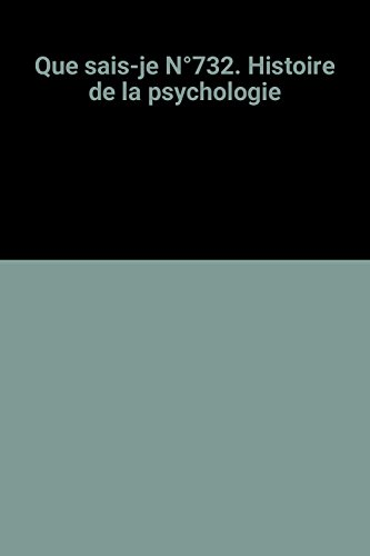 Histoire de la Psychologie: Reuchlin M