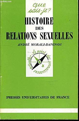 9782130365617: Histoire des relations sexuelles