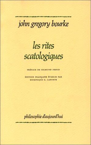 9782130367291: Les rites scatologiques (Ancien prix éditeur : 24.00 € - Economisez 50 %)