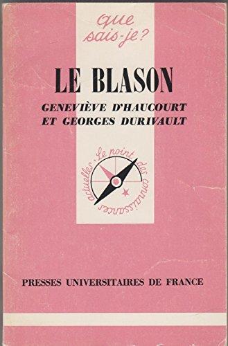 9782130372400: Le Blason (Que sais-je)