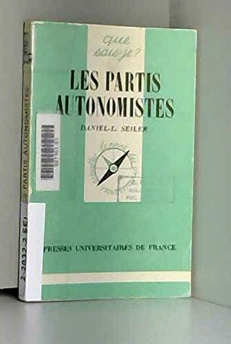 9782130373285: Les partis autonomistes