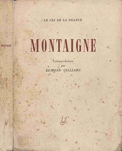 9782130375678: Montaigne