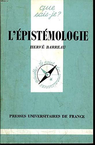 9782130377559: L'EPISTEMOLOGIE