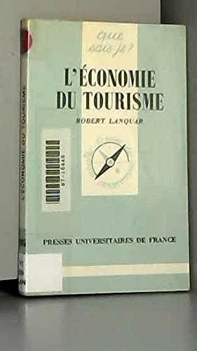 9782130377917: L'économie du tourisme
