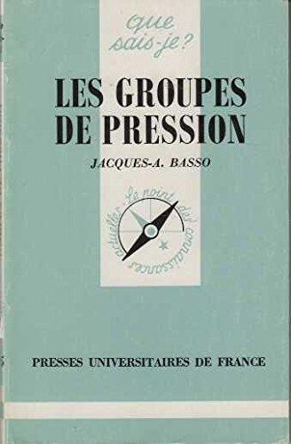 9782130378853: Les groupes de pression