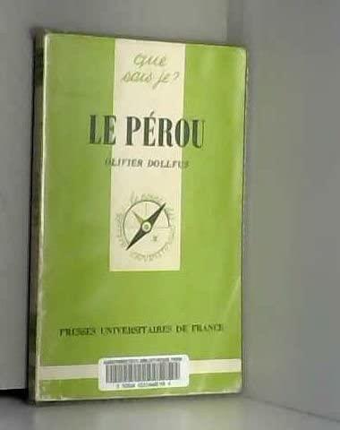 9782130378860: Le Pérou