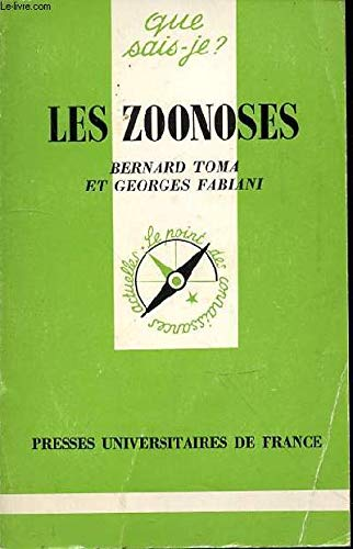9782130379430: Les Zoonoses : Maladies animales transmissibles