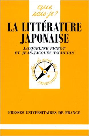 9782130379928: La Littérature japonaise