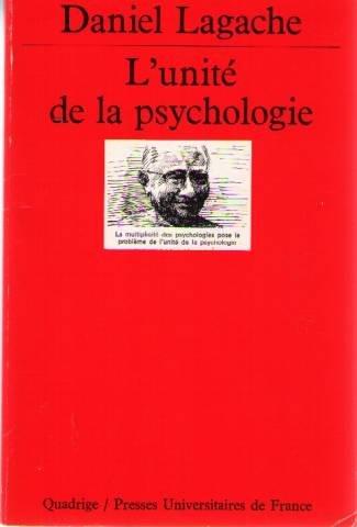 9782130379997: L'unité de la psychologie