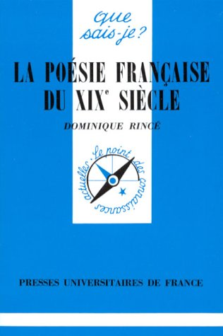 9782130380313: Po�sie fran�aise du XIXe si�cle