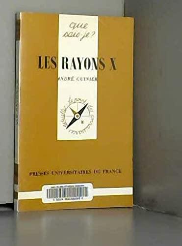 9782130381167: Les Rayons X