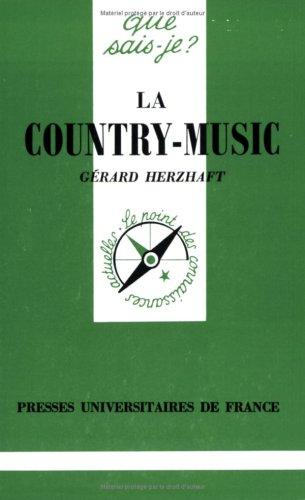 9782130381686: La Country-music