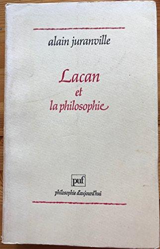 9782130382867: Lacan et la philosophie (Philosophie daujourdhui)