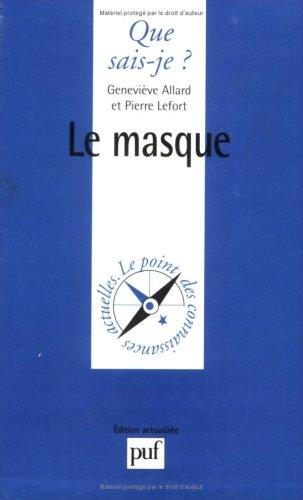Le Masque éd 1984: Genevieve Allard Pierre