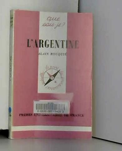 9782130383826: L'Argentine