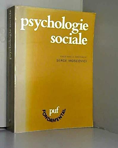 Psychologie sociale (PUF fondamental) (French Edition): Abric, J.-C. (Jean-Claude),