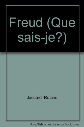 Freud: Roland Jaccard