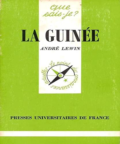 9782130385035: La Guinée (Que sais-je ?)