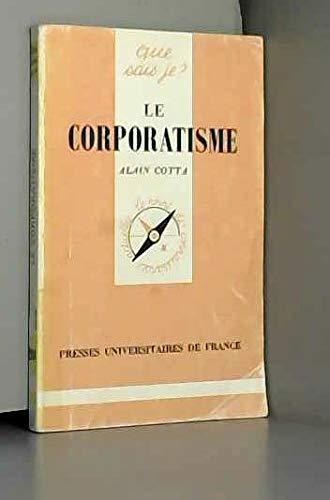 9782130387732: Le Corporatisme