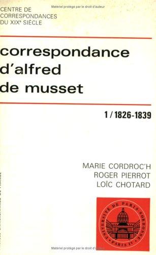 9782130388531: Correspondance d'Alfred de Musset (French Edition)