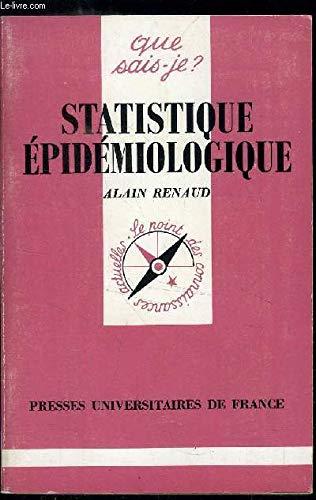 Statistique épidémiologique: Renaud, Alain