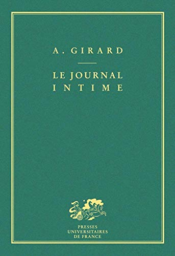 9782130392200: Le Journal intime