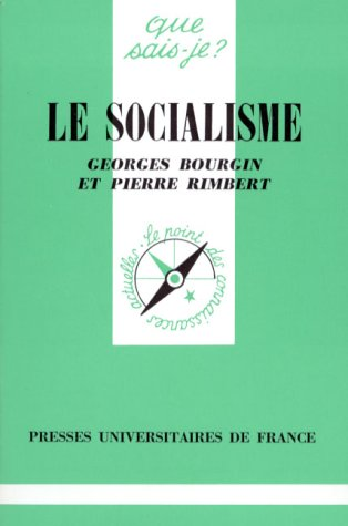 Le socialisme: Georges Bourgin, Pierre