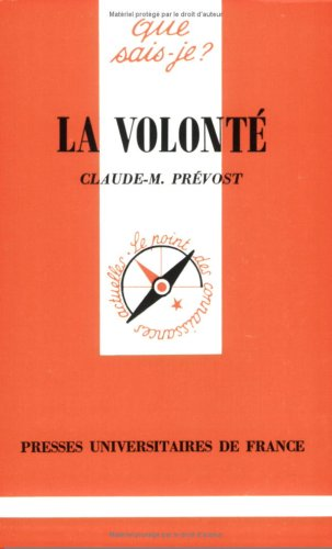 9782130393825: La Volont�