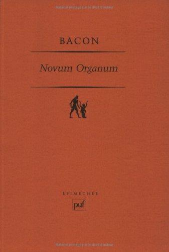 9782130394419: Novum organum