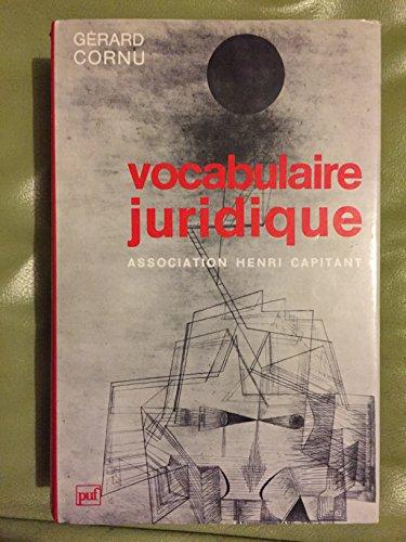 9782130394464: Vocabulaire juridique (French Edition)