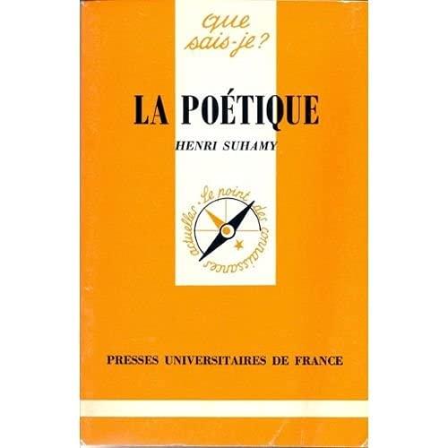 9782130395546: Poetique (la)